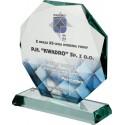 Statuetka szklana G020
