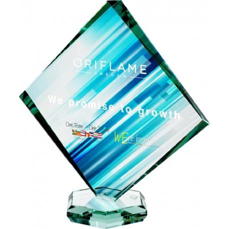 Statuetka szklana G022