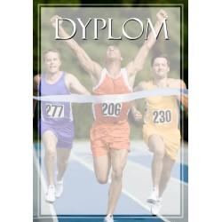 DYP115 dyplom lekkoatletyka komplet 25 szt.