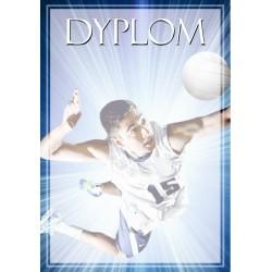 DYP116 dyplom siatkówka komplet 25 szt.