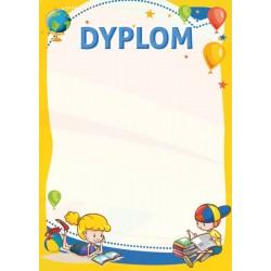 D97 dyplom dzieciecy