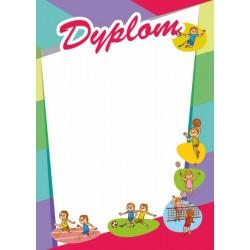 D98 dyplom dzieciecy
