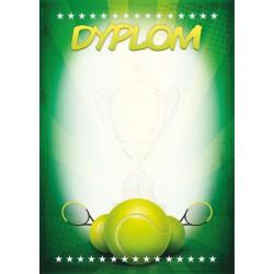 D110 dyplom tenis ziemny