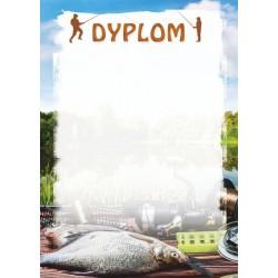 D117 dyplom wędkarstwo