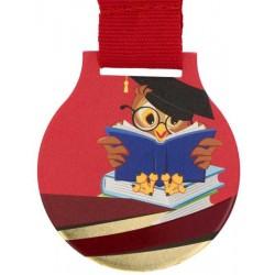 Medal sowa MC6001/G-S/SCH