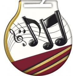 Medal muzyka MC61/G/MUS