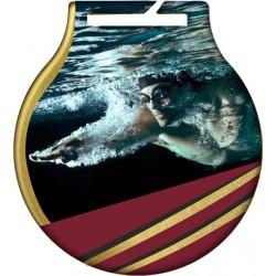 Medal pływanie MC61/G/SWI