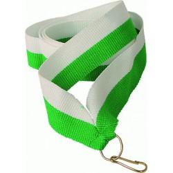 V W/GN biało-zielona