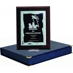 HG82+ETUI Dyplom z grawerowaną blaszką + etui